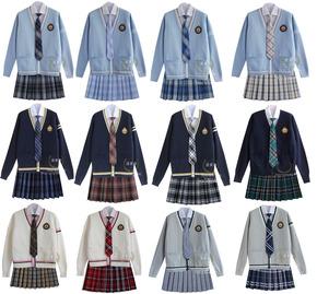 包邮新款JK学生班服校服套装制服涵素诗英伦学院风毕业演出合唱服