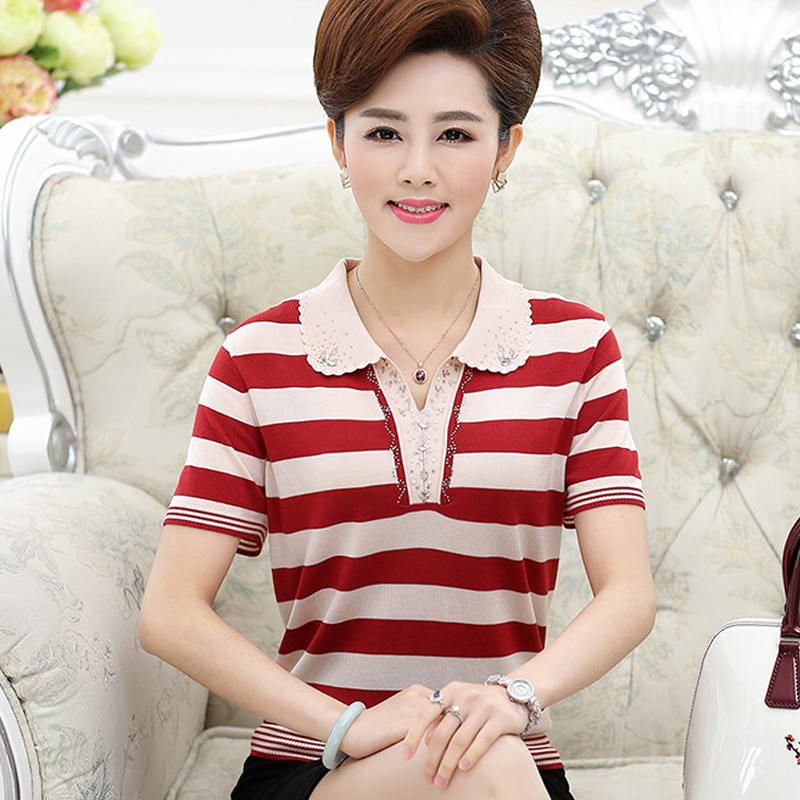 Womens clothes for middle-aged and old people summer clothes for women aged 50