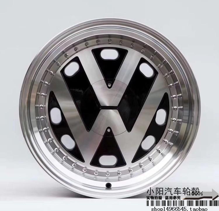 适用大众普桑捷达Polo高尔夫帕萨特迈腾宝来15/16/17寸VW改装轮毂