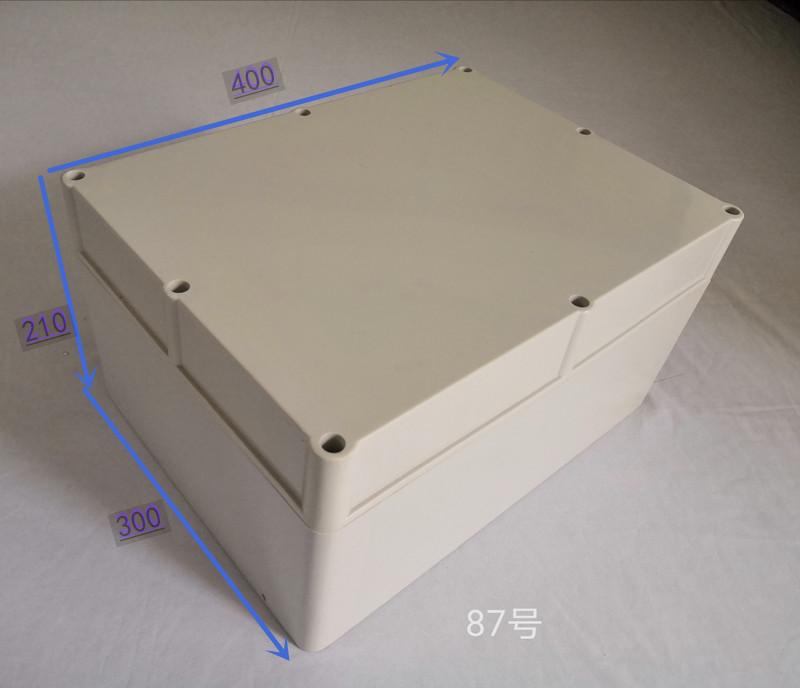 {高档}ABS塑料防水盒室外接线外壳设备控制器机箱87号210*300*400