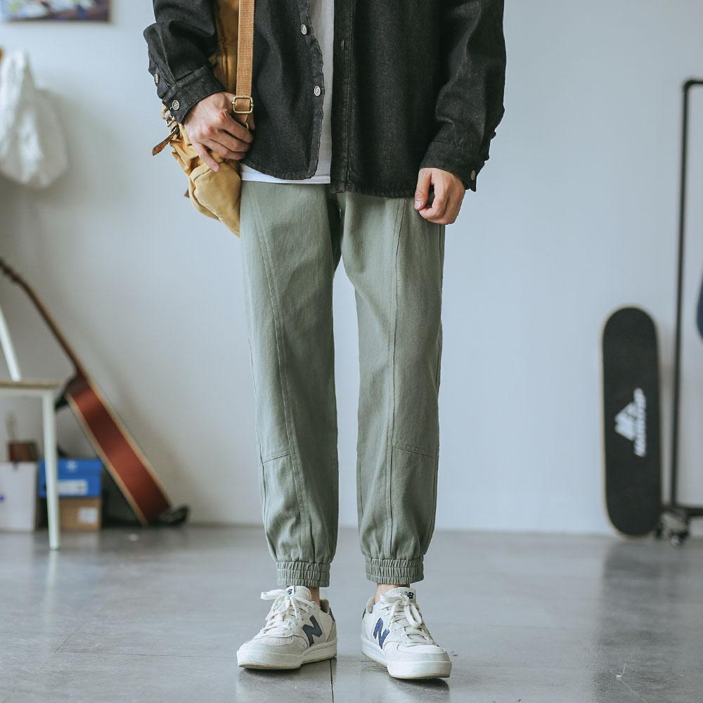 10月10日最新优惠嘿马七作原创日系复古男士工装裤