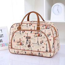 韩版大容量旅行包女手提行李包PU旅行袋短途出差行李袋男旅游包潮