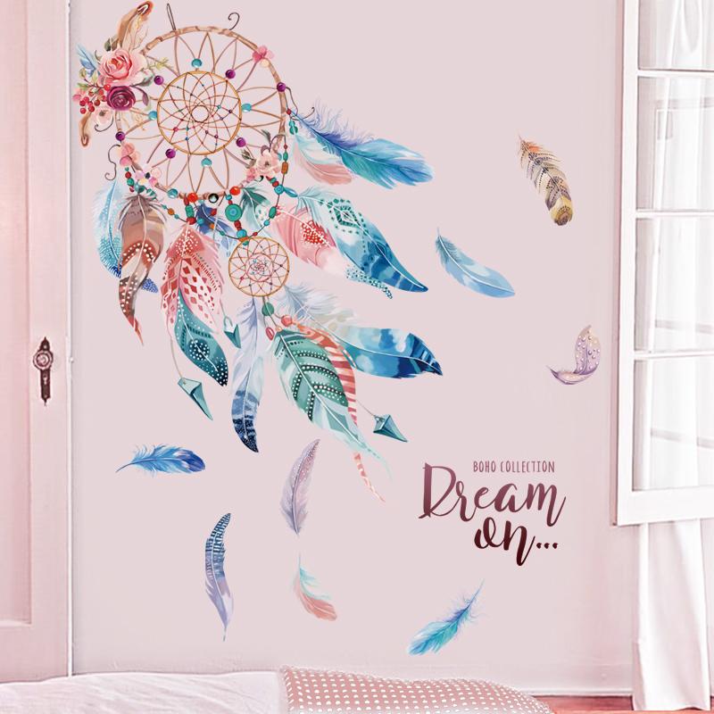 满39.00元可用31.01元优惠券3d立体个性创意温馨房间装饰贴纸