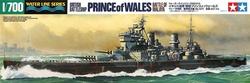 铸造世界 田宫舰船模型 1:700 英 威尔士亲王 号战列舰 31615