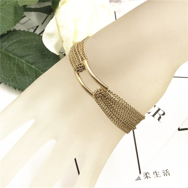 Japan and South Korea fashion jewelry European and American Bracelet exaggerated multi-layer Bracelet