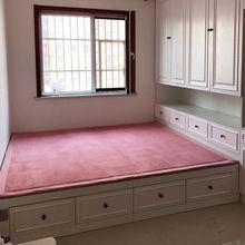定制榻榻米地墊床墊加厚防滑寶寶床邊防摔墊爬行墊炕墊兒童房地毯