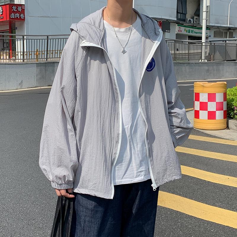 夏季新款防晒衣男中性风薄款外套夹克宽松防晒服223-7-Y223-P55