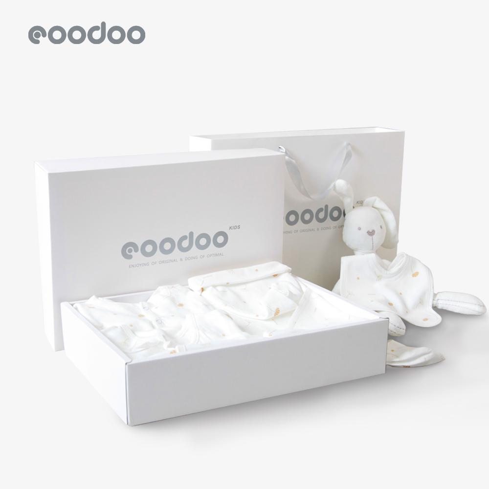 eoodoo品嘟婴儿套装新生儿礼盒衣服夏初生满月宝宝见面礼母婴用品