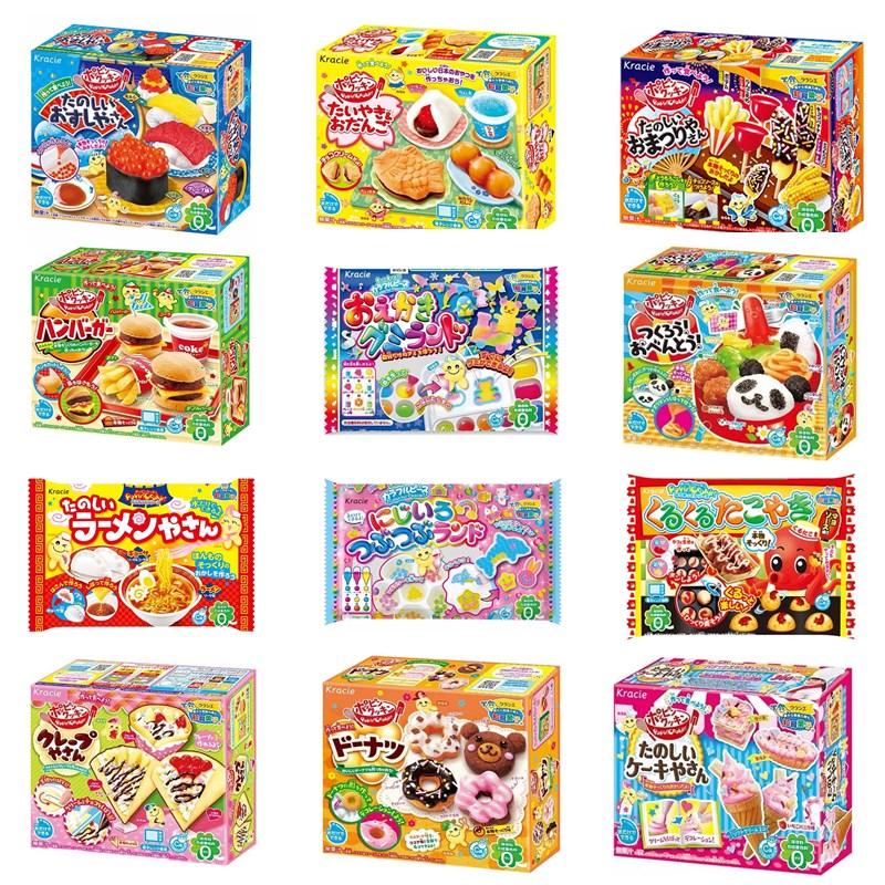 日本食玩可食 抖音迷你小小世界食玩女孩小伶玲林diy食完玩具套装