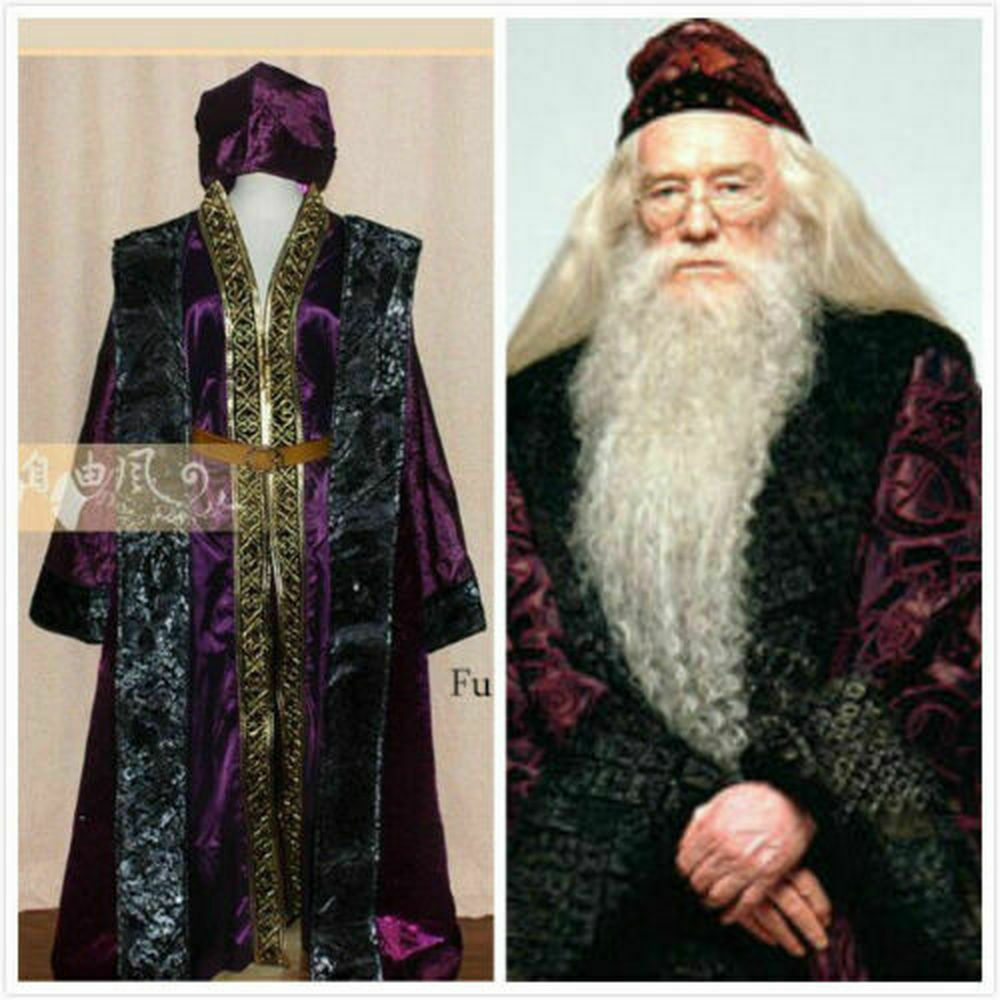 ハリー・ポッターのホーグワーツ学校のアスス・テレポート校長の制服コスプレ衣装を代理購入します。