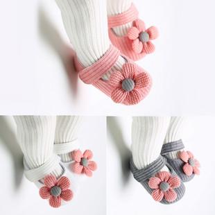 春秋婴儿步前鞋0-1岁8女童鞋软底女宝宝公主鞋3-6-12个月学步布鞋图片
