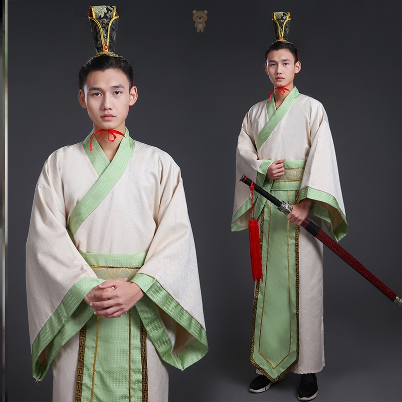 The young master's Hanfu costumes for men and women in Hanfu costumes are elegant and elegant