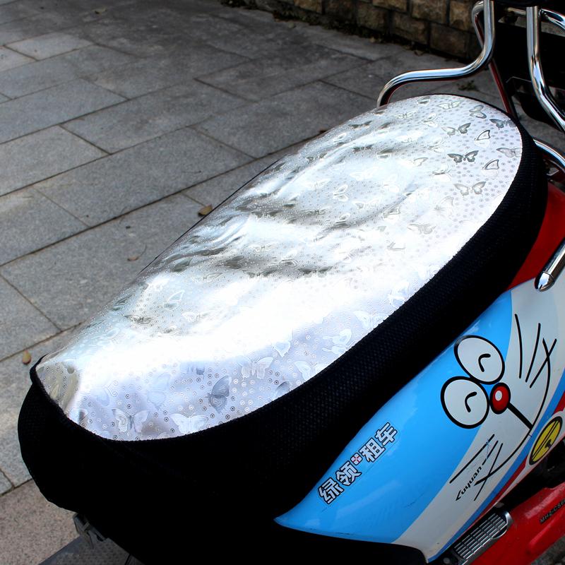 Электромобиль солнцезащитный крем противо-дождевой подушка мотоцикл скольжение изоляция сидеть крышка скутер отражающий подушка водонепроницаемый крышка