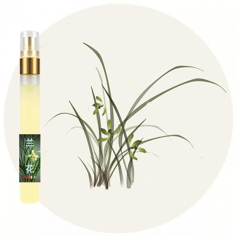 私達の蘭の味の野生の蘭の草の花の女史の薄い香に出会います。