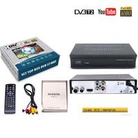 DVB-T2高清電視機頂盒M2 plus出口新加坡馬來西亞泰國越南緬甸