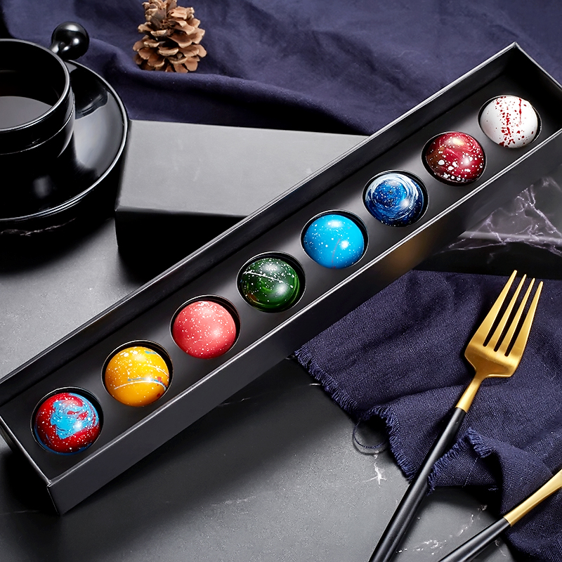 星球空巧克力八大行星礼盒装生日送女友创意表白礼物中秋节送领导