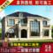 欧式二层小别墅设计图纸自建房设计图全套施工图带效果图农村别墅