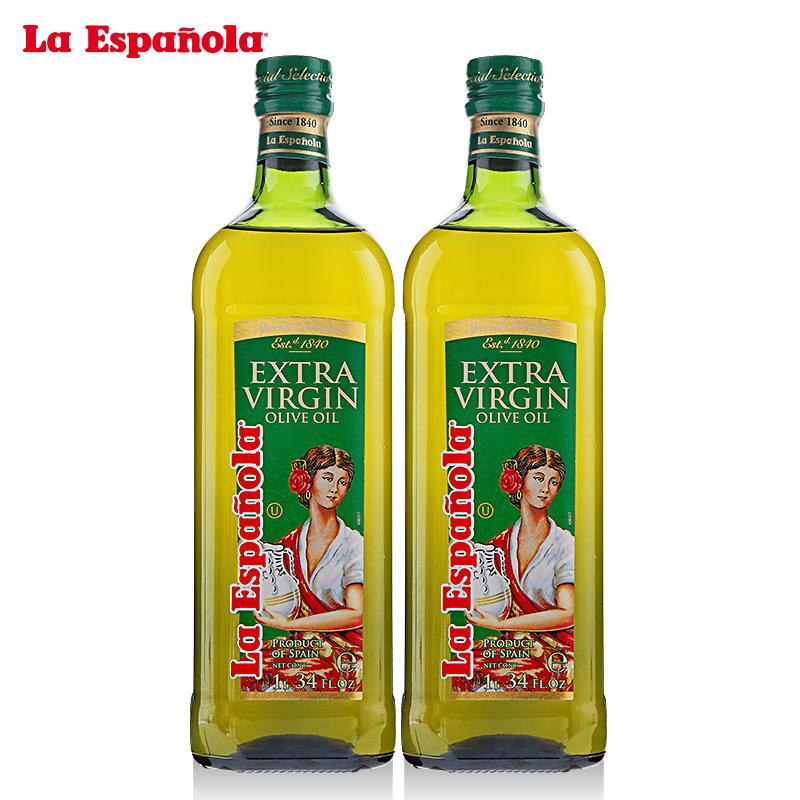 西班牙 萊瑞特級初榨橄欖油1L特惠裝食用油