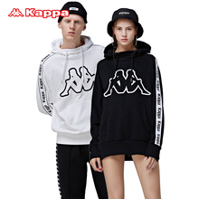 KAPPA Kappa couples men and women stringed sweater casual hooded hoodies loose size is too large