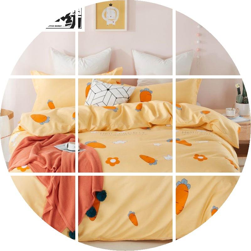 佳卉四件套加厚ins被套秋冬三件套网红床北欧风学生双人床上用品