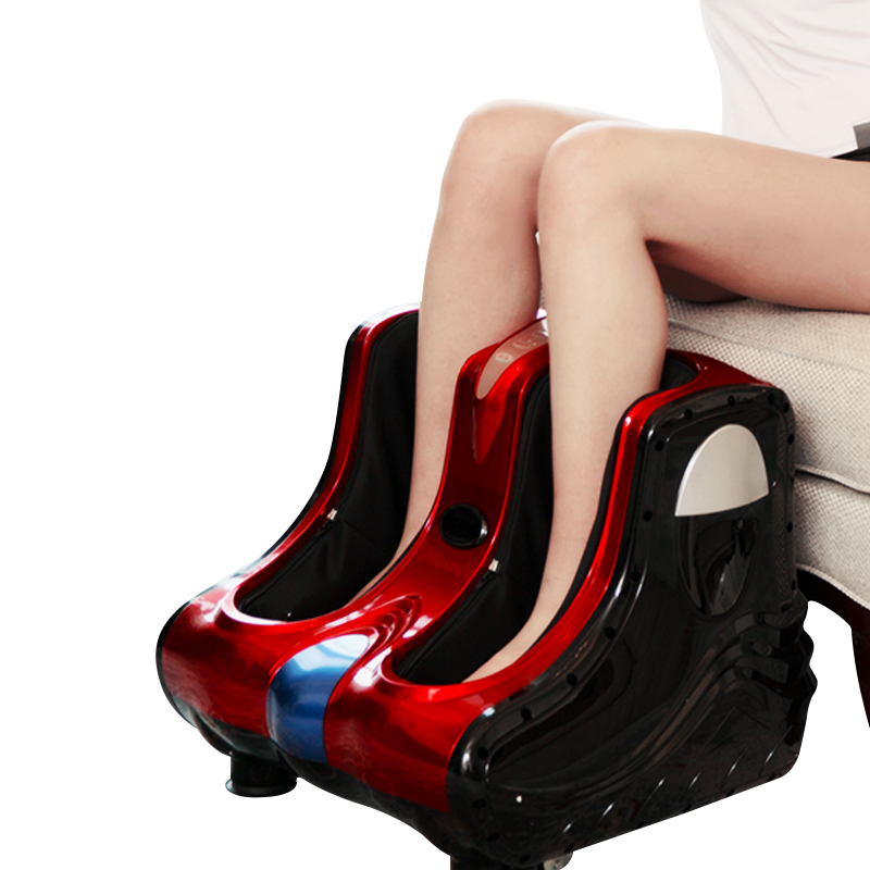 麥太腿部按摩器電動加熱腳底按摩儀器小腿足底腳部揉捏美腿足療機