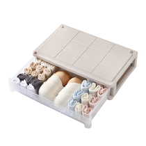 Oversized underwear storage Box women drawer bra underwear socks Finishing Box wardrobe storage Oracle three in one