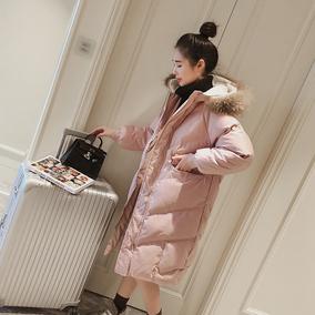 【季末打折】冬2020年新款中长款棉服