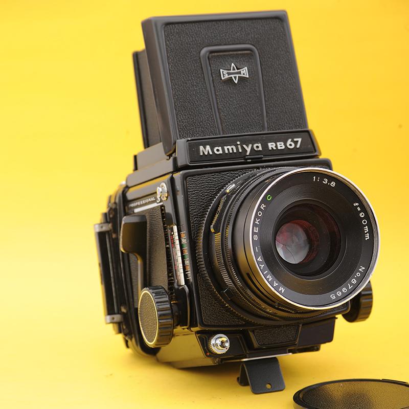 mamiya玛米亚RB67 pros胶片相机90镜头套机67背中画幅120胶卷相机
