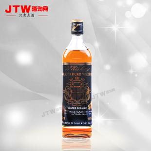 700ml年威士忌原酒进口送礼佳品12格兰爵士黑钻黑方瓶洋酒