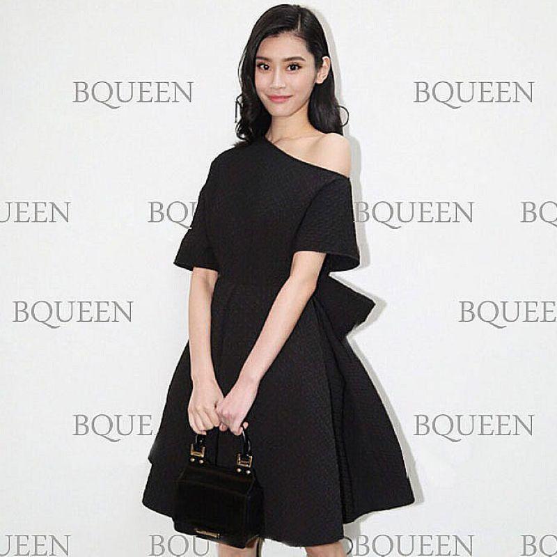 宴会晚礼服2020新款显瘦小黑裙大码连衣裙黑色年会小礼服平时可穿