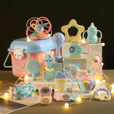 婴儿礼盒新生儿玩具满月礼物套装刚出生宝宝用品大全初生礼品母婴