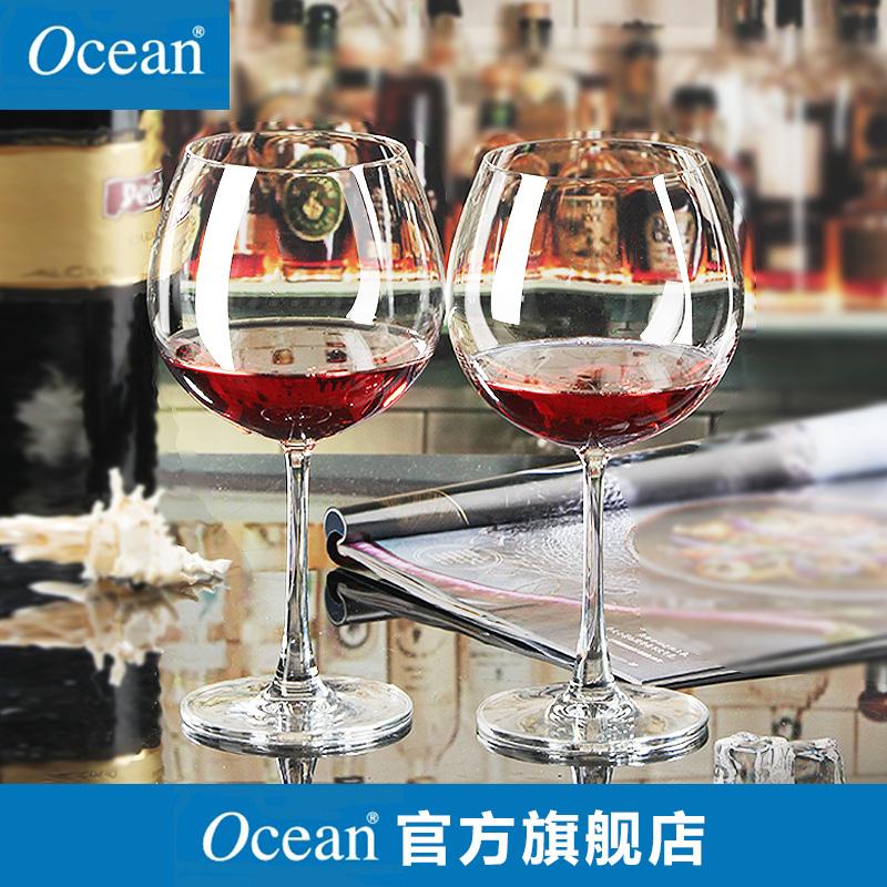 ocean泰國 無鉛紅酒杯 波爾多勃艮第葡萄酒高腳杯子套裝酒具