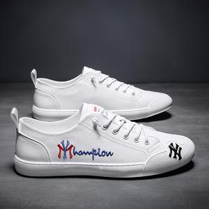 欧洲站2021秋季小白鞋男鞋子板鞋