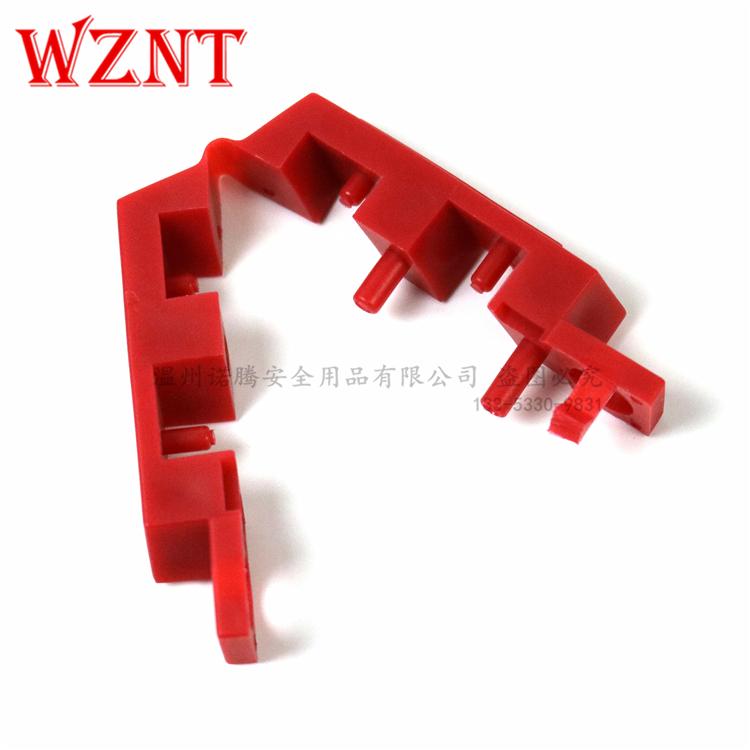 诺腾安全断路器锁65387电路断路器锁 120V卡扣式断路器锁NT-L21
