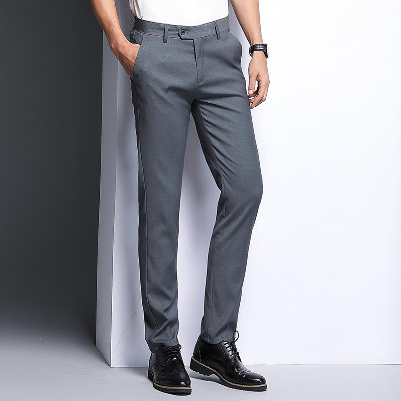 舒适百搭黑蓝色西裤