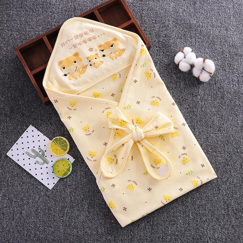 婴儿襁褓包巾抱毯包被初生产房夏季薄款纯棉包单新生儿防惊跳抱被