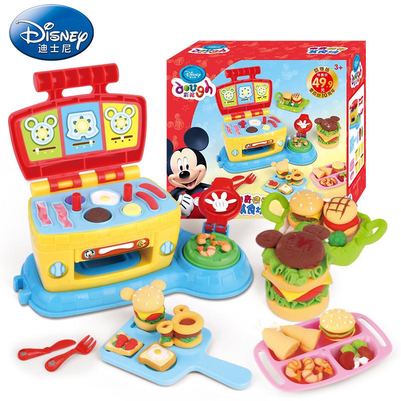 [迪士尼3D打印泥大厨机] комплект [米奇造型美食坊] детские цвет [泥橡皮泥] без [毒益智]