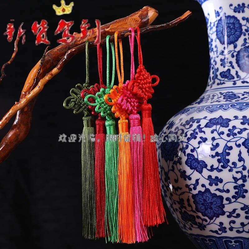 新货小号中国结挂件手工编织流苏穗特色手工艺品民族风好