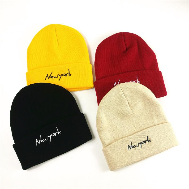 帽子男针织帽潮牌街头韩版街头百搭薄款黑色毛线秋冬帽子滑雪帽