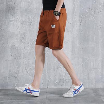 夏季日系布标装饰运动休闲短裤工装中裤大码纯棉五分裤潮DK01-P40