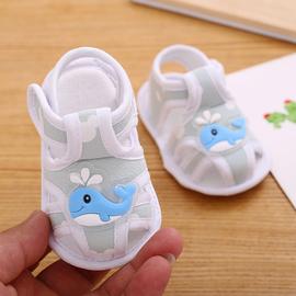 0-1岁婴儿鞋宝宝软底学步鞋夏季男女宝宝布鞋防滑透气凉鞋步前鞋图片
