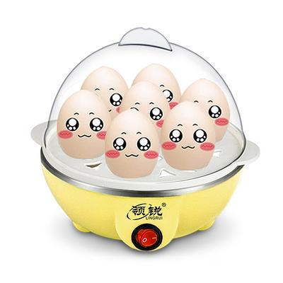 煮蛋器 蒸蛋器 小功率型350W蒸蛋器宿舍宝宝单层1-7个鸡蛋早餐机