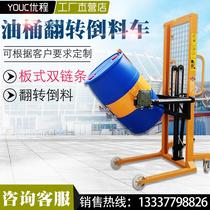 吨液压搬运车地牛装卸托盘车油压手推拖车升降车5吨3吨2手动叉车