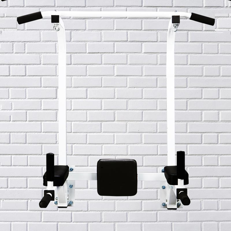 墙体单杠室内双杠单杆家庭运动健身器材家用墙上多功能引体向上器