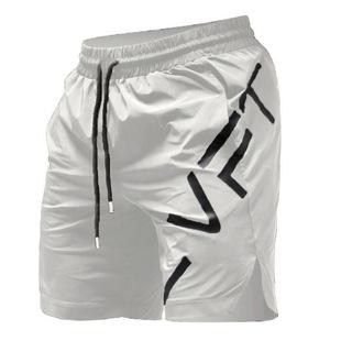 运动裤男短裤五分裤肌肉健身兄弟夏季跑步训练速干透气大码中裤子