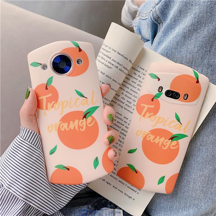 ins小清新韩风橘子V6美图T9手机壳限量版M8S全包T8S软套m6s女款T8