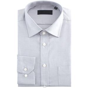 高支纱高档男士长袖高支棉纯色衬衫