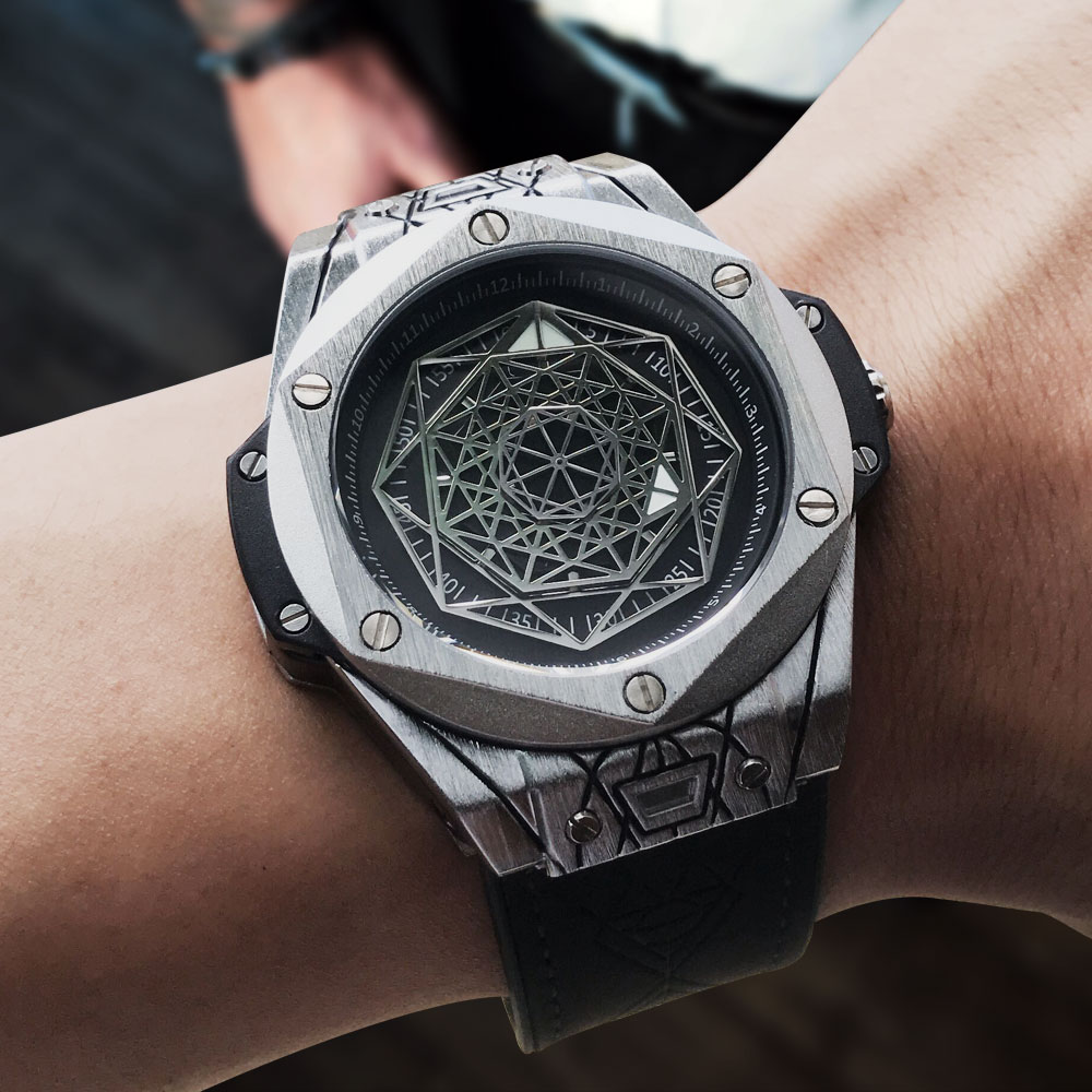 European and American simple fashion brand watch concept personality design fashion leisure watch mens sports watch popular in foreign trade