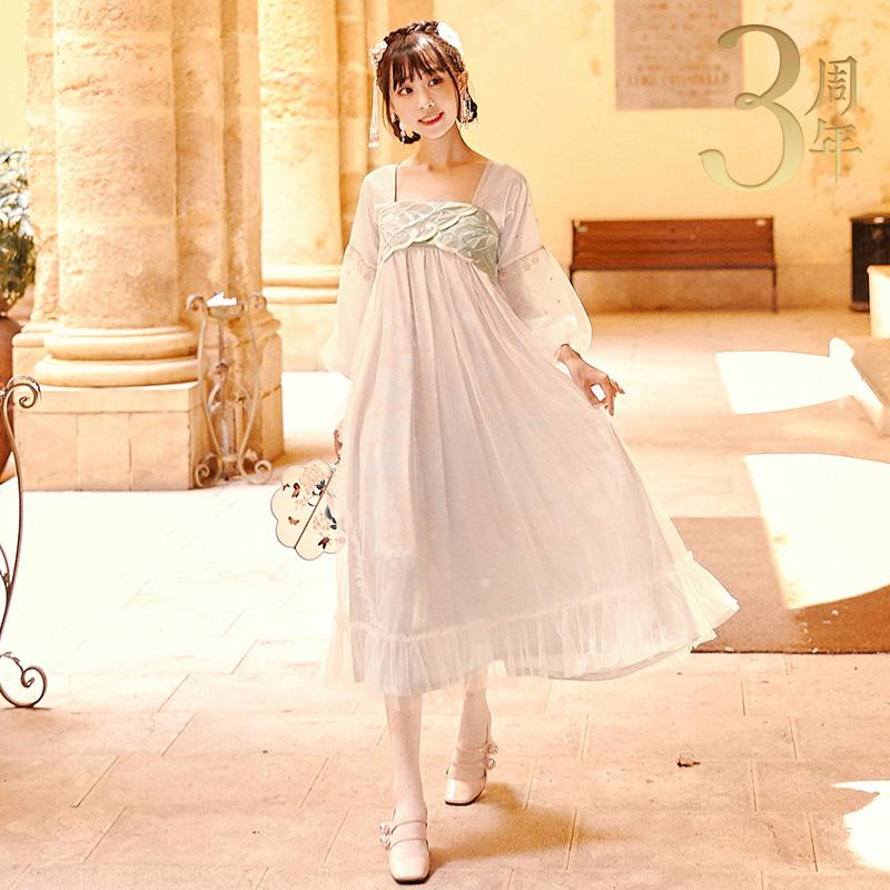 【十三余小豆蔻儿】[玄妙观]连衣裙热销249件限时2件3折
