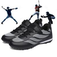 棒球鞋青少年运动鞋中小学生校队专业软式棒垒球橡胶底碎钉训练鞋